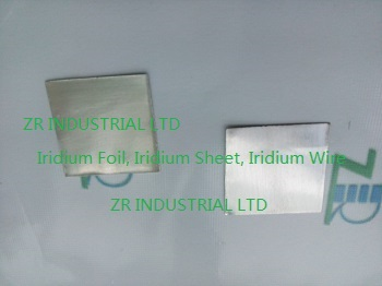 Iridium foil, Iridium sheet