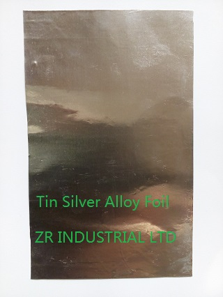 Tin Silver Alloy Foil