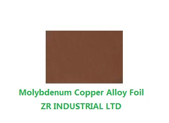 Molybdenum Copper Alloy Foil